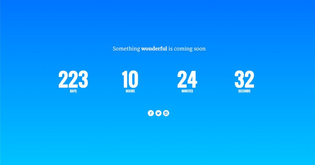 Divi Tutorial - The Final Countdown